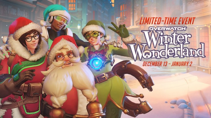 オーバーウォッチ:期間限定イベント「ウィンター・ワンダーランド」開催、雪合戦モードや100以上のアイテム追加