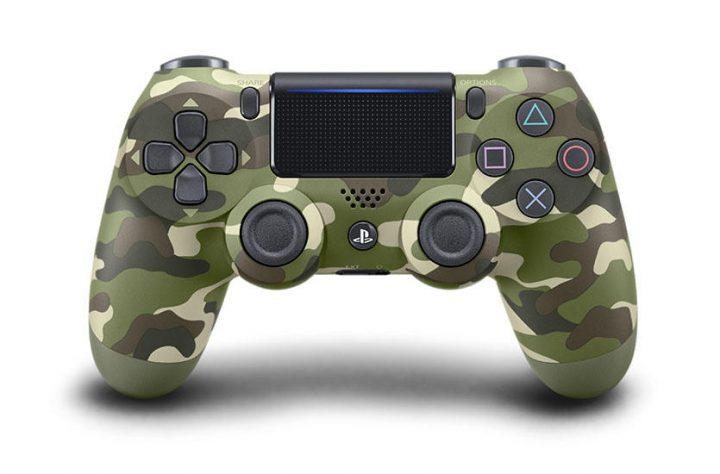 PS4コントローラーに新色「グレイシャー・ホワイト」と「グリーン・カモフラージュ」が追加、2月23日より順次発売