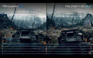 BF1: アップデート「1.05」でパフォーマンスが大幅に改善していたことが判明(PS4 / Xbox One)