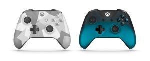 """Win10とワイヤレス接続できる「Xbox ワイヤレス コントローラー」2 製品、""""ウインター フォーセス""""と""""オーシャン シャドウ""""が3月2日数量限定発売"""