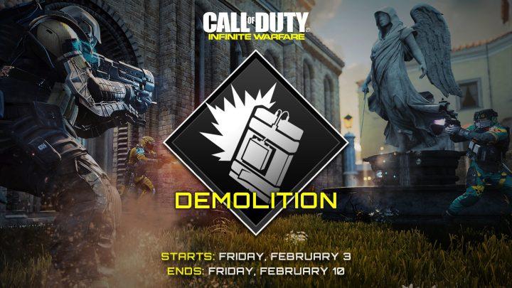CoD:IW:ゲームモード「デモリッション」が期間限定で復活