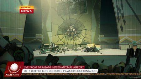 オーバーウォッチ:[速報] ヌンバーニ国際空港で襲撃事件が発生、Doomfistが盗まれる