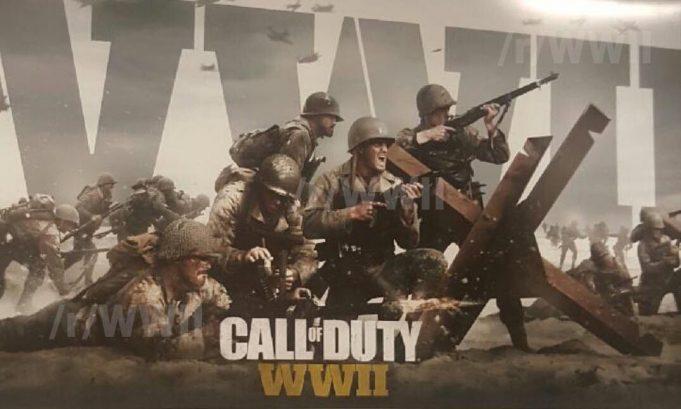 噂:CoD2017の舞台は第二次世界大戦でタイトルは『Call of Duty:WWII』、アートワークが流出か