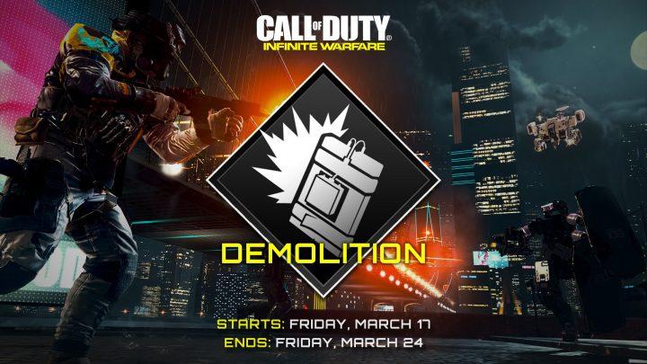 CoD:IW:爆弾ゲームモード「デモリッション」が期間限定で復活