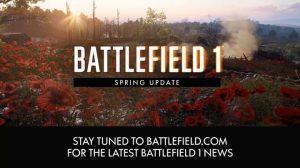 BF1: 「春アップデート」を4月27日に実施、