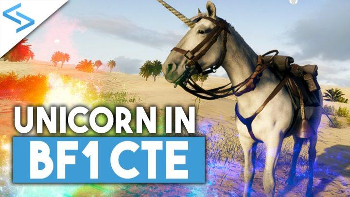 BF1: 我らの頼れる馬、憎たらしいジョークを飛ばす幻想的なユニコーンに変身(CTE)