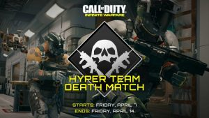CoD:IW:ペイロード使い放題のお祭りモード「Hyper Team Deathmatch」、期間限定で復活