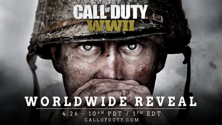 CoD:WW2:速報!CoD最新作は『Call of Duty: WWII』で確定、4月27日午前2時にお披露目配信