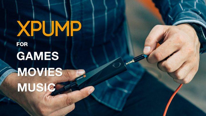 ゲーム・映画・スマホ: サウンドを没入型3Dサウンドへリアルタイム変換するスティック「XPUMP」[PR]