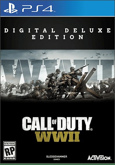 cod wwii ps4 dx edition