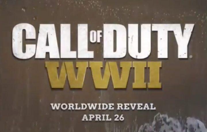 CoD:WW2: 4月27日の全世界お披露目配信に向けたティザー広告が配信開始