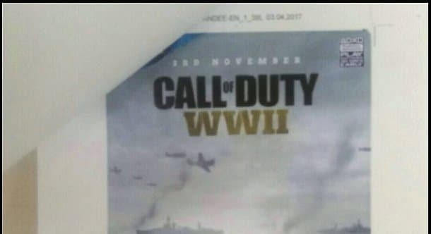 CoD最新作『CoD:WWII』の発売日は11月3日?ポスターがリーク(噂)