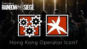 R6S:「香港」で追加されるオペレーターのアイコンがリーク? 名前はDazzlerとCaltropでフラッシュマインとまきびしを使用か(噂)