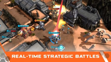 モバイル向けRTS『Titanfall Assault』プレイ動画が公開、事前登録も受付中