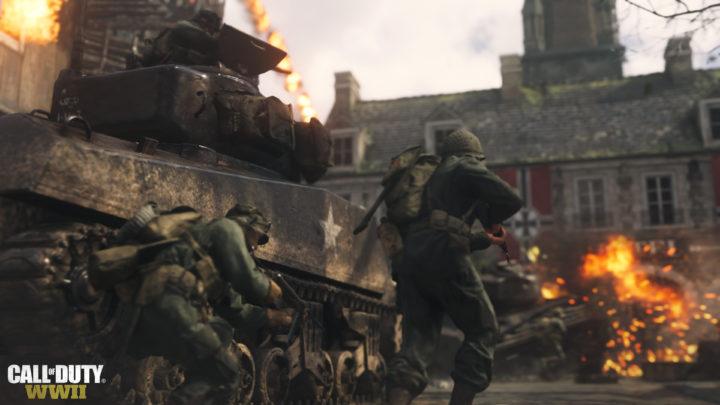 "CoD:WWII: マルチとゾンビで""鉤十字""が登場しない理由"
