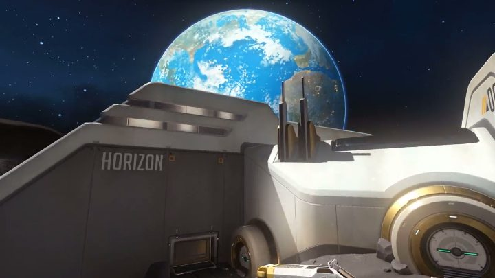 Overwatch 月面マップ Horizon Lunar Colony