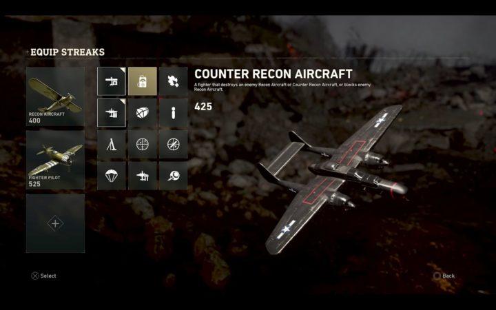 Counter Recon Aircraft