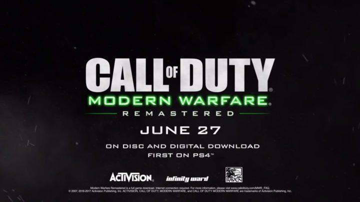 『CoD:MWR』単体リリース正式発表、6月27日発売