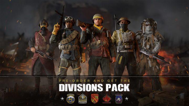 CoD:WWII: 「ディビジョンパック」が小売店の予約特典として付属、見た目アイテムのセットか?
