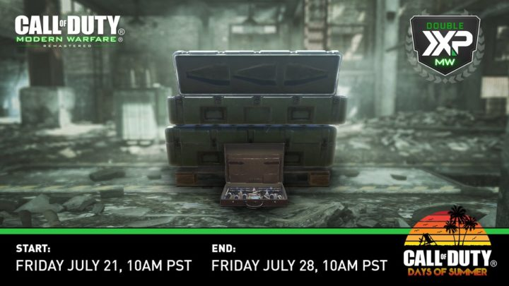 CoD:MWR: ゲームモード「デモリッション」初登場、ダブルXPも開催