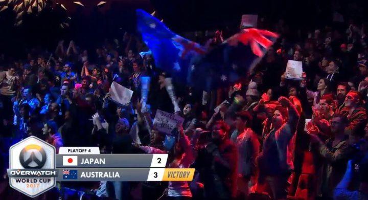 オーバーウォッチ: 日本代表チーム激戦の末勝利!