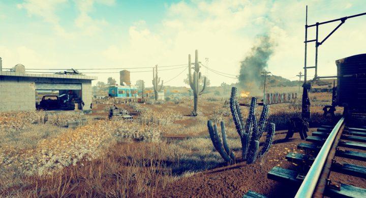 PUBG: 「砂漠」の新マップを開発中、2枚のスクリーンショット公開