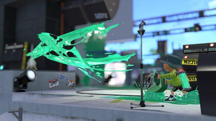 スプラトゥーン2:新武器「スクリュースロッシャー」追加、新ステージ「マンタマリア号」実装も