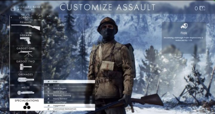 BF1-SPECIALIZATIONS