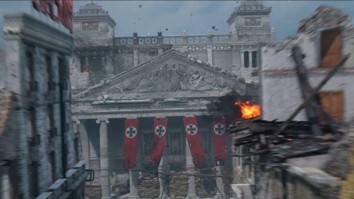CoD:WWII:第2週先行ベータで利用可能な新マップ「Aachen」のフライスルー動画公開