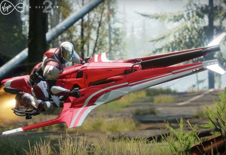 Destiny 2: 新型デザインの限定スパローがリーク、イギリスのプロバイダー契約者のみ使用可能