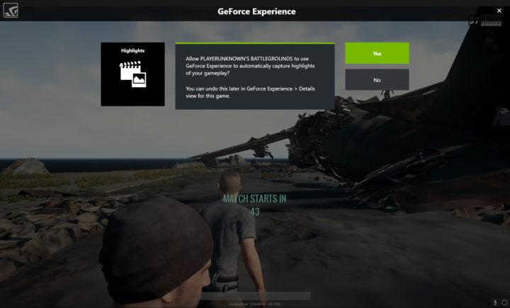 PUBG: ゲームのハイライトを自動で録画してくれるShadowPlay Highlightsに対応、ハイライト動画でGTX 1080tiが当たるコンテスト開催