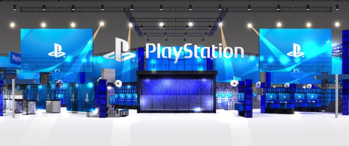 TGS2017_PlayStation booth