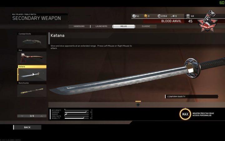 CoD:IW:最新アップデート1.21配信、3種のゾンビ武器「Venom-X」「刀」「ヌンチャク」がマルチへ追加など