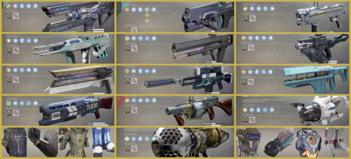 Destiny 2: 【追記あり】全エキゾチック装備や第3の新サブクラスの上下スキルツリー判明(ネタバレ注意)