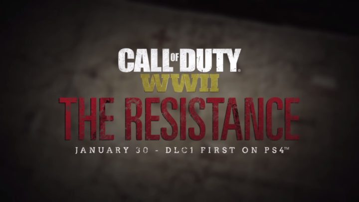 CoD:WWII: 第1弾DLC「The Resistance」、PS4へ1月30日に先行配信