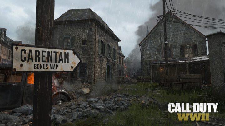 CoD:WWII:CoD伝統マップ「Carentan」正式発表、デジタルDX・シーズンパス保有者は1日目から利用可能