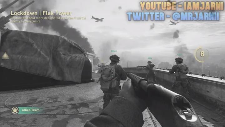 "CoD:WWII: 新武器やゲームモード""Lockdown"" ""Gun Game"" ""Infected"" ""Contorl""の映像リーク"