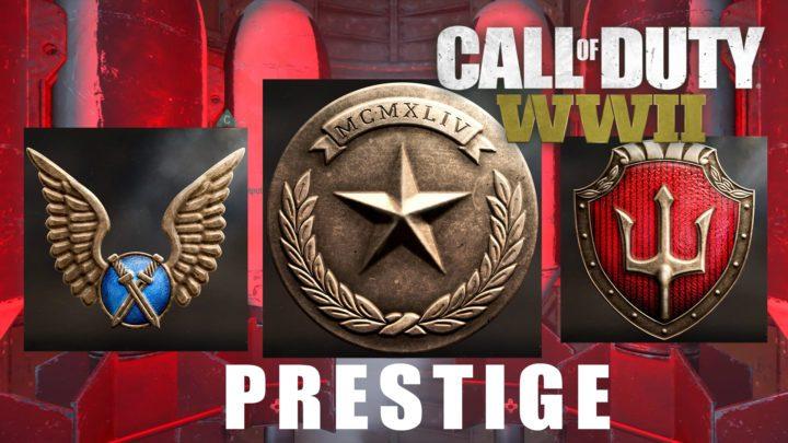 CoD:WWII: プレステージアイコン全10種と、プレステージマスターアイコンが判明