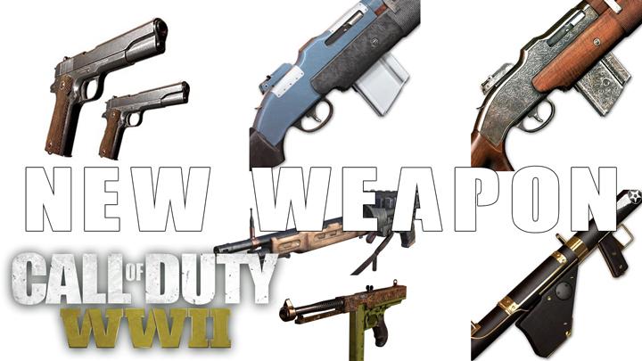 CoD:WWII: 新たに6種の武器バリアントがリーク、アタッチメントのアキンボ画像も発掘