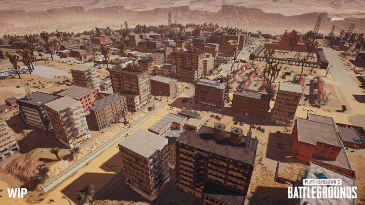 "PUBG: 新マップ""砂漠""が8平方kmに大幅拡大、いくつかの新ディティールも判明"