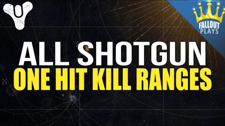 Destiny 2: 全レジェンダリーとエキゾチックショットガンの確殺距離比較、隠れた強武器発見