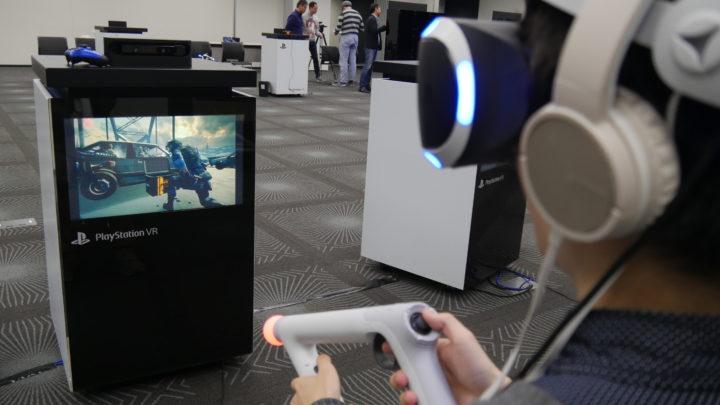 PlayStation 4・PlayStation VR体験会 Bravo team