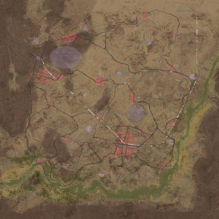 9月に発掘されたマップレイアウト。場所の名前も合致