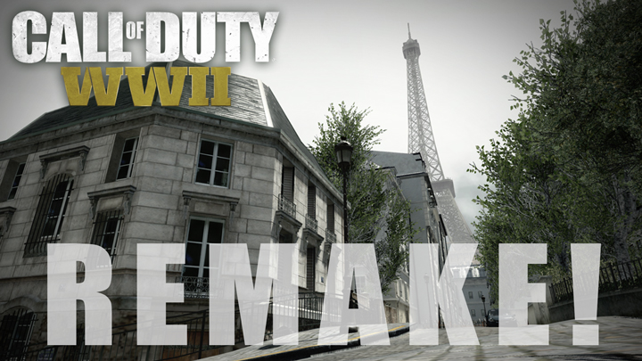 """CoD:WWII:第1弾DLC「The Resistance」でリメイクされるマップ""""Resistance""""を振り返ろう"""