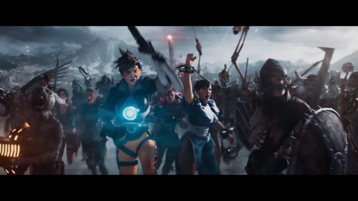 スピルバーグ監督映画「レディ・プレイヤー1」:『Overwatch』のトレーサーや春麗、ガンダムや金田のバイク登場、2018年4月20日公開