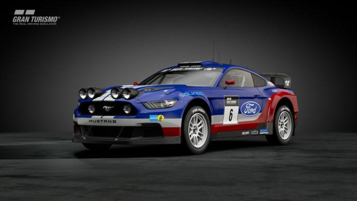 フォード マスタング Gr.B Rally Car