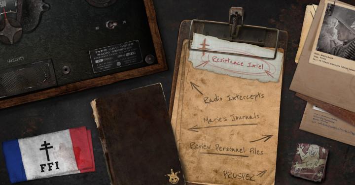 CoD:WWII:DLC第1弾「The Resistance」に暗号発見、壁紙5種&コーリングカードを入手しよう