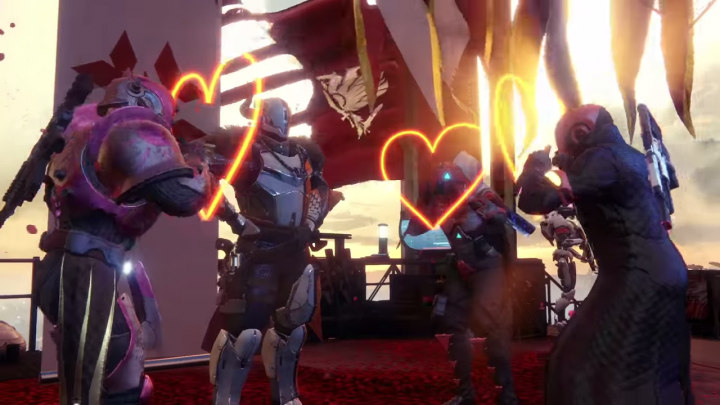 Destiny 2:これぞ愛!「真紅の日々」トレーラー公開
