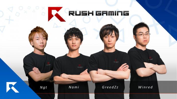 Rush Gaming  CoD:WW2 プロ対抗戦