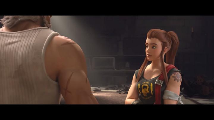 オーバーウォッチ_ 短編アニメーション _Honor and Glory_ screenshot